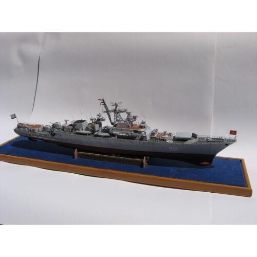 "PAPER MODEL KIT MILITARY FLEET PATROL SHIP /""ACTIVITY/"" 1//200 OREL 63"