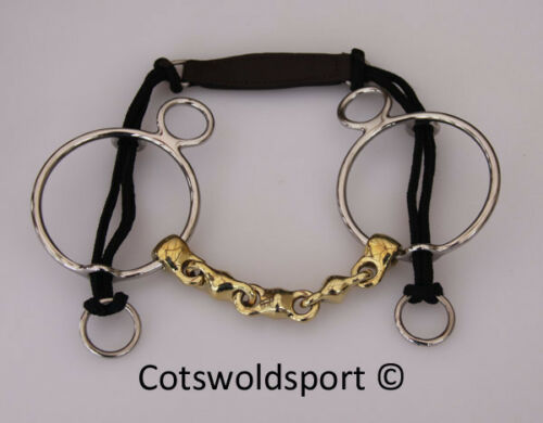 CS Waterford German Silver Curb Gag 150mm 6""
