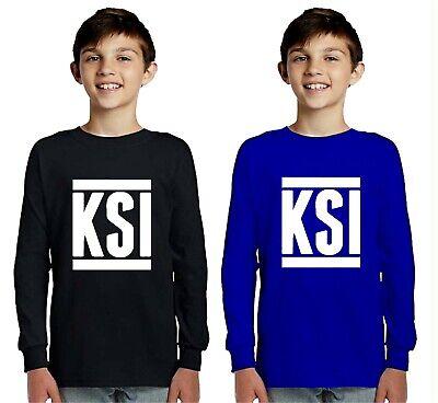 CHILDRENS kids T SHIRT KSI Sidemen YouTube Army FIFA Gaming keep up 5-13 YEARS