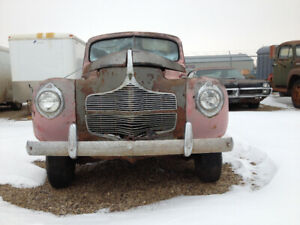 FOR SALE 1940 PLYMOUTH COUPE