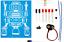 K-5117 LED ROBOT BLINKER DIY KIT solder version A good classroom STEM project