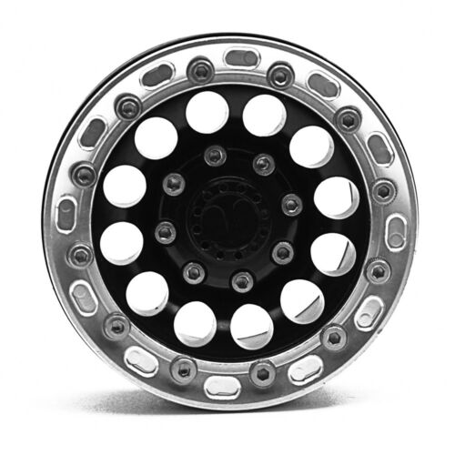 "1.9/"" Alloy Metal Beadlock Wheel Rim For Axial SCX10 CC01 D90 1//10 RC Crawler #2"