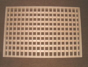 Image Is Loading Custom Made Wood Egg Crate Floor Grate Flush