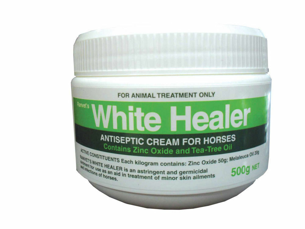 Ranvet White Healer Germicidal Medicated Ointment for wounds on horse Camel 500g