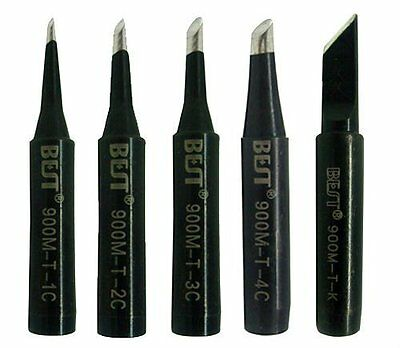 5X TOP QUALITY SOLDERING IRON TIP FOR AOYUE 738 738H  REWORK STATION