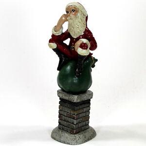Vintage Jim Shore Chimney Santas 7 Quot Figurine Le 1992
