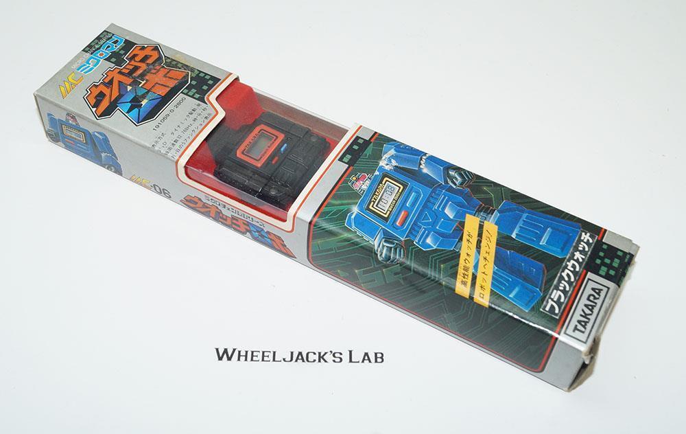 Montre Robo MC-06 Micro changement Microman Pre G1 Transformers Takara
