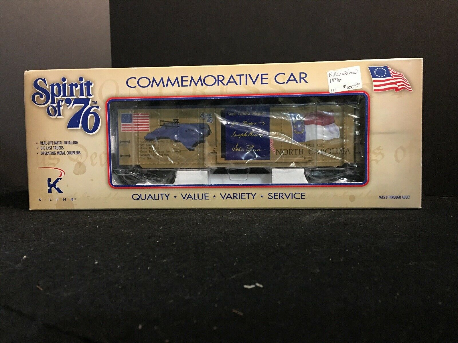 SPIRIT 76  COMMEMORATIVE auto  STATE OF NORTH autoOLINA autoOLINA autoOLINA O K761-7612 d84dac