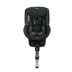 Parker-Negro-Nino-Asiento-de-Coche-de-Bebe-edades-0-4-seguridad-Booster-Isofix-pata-de-apoyo-0-1
