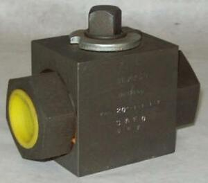 Hydac Hycon 2 Way Sae Ball Valve Khb 20sae 01 1 1 2 Ebay