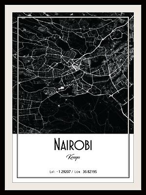 BANGALORE CITY MAP POSTER PRINT MODERN CONTEMPORARY CITIES TRAVEL IKEA FRAMES