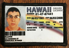 Superbad Movie McLovin Drivers License Morale Patch Tactical Military USA Hook