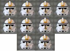 LEGO® YELLOW Helmet from EP 3 Clone Trooper  X 10 - Episode 3