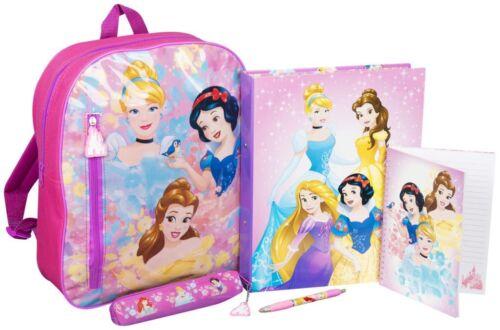 Kids Filled Backpack Set Girls Boys A5 Spiral Notebook,Pencil Case,Ringbinder 3+