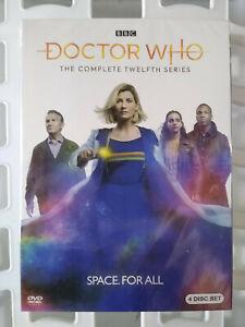 Doctor-Who-Season-12-DVD-4-Disc-Set-2020-BBC-BRAND-NEW