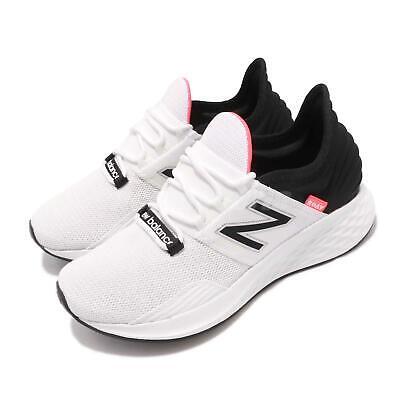 New Balance Fresh Foam ROAV B White Black Pink Womens Running Shoes WROAVLW  B | eBay