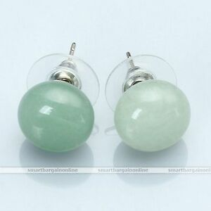 Aventurine-Women-Natural-Gemstones-Abacus-Stone-Bead-Chakra-Ear-Stud-Earrings