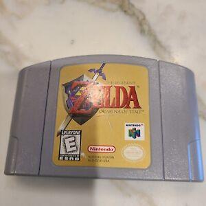 Legend of Zelda: Ocarina of Time (Nintendo 64, 1998) NTSC-U/C 100% Authentic