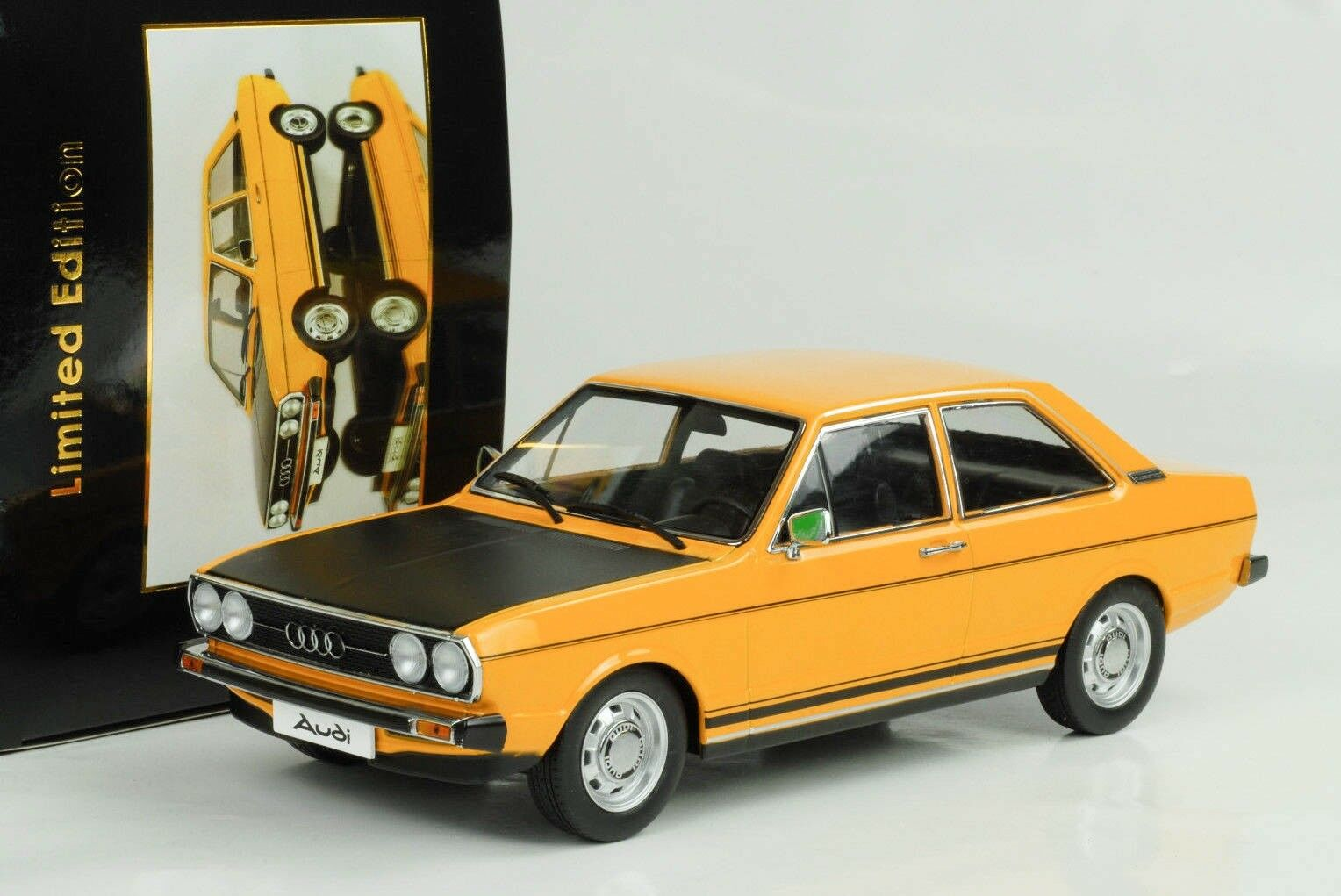 AUDI b1 80 GTE 1975 OCRA cappa nera 1 18 KK Diecast