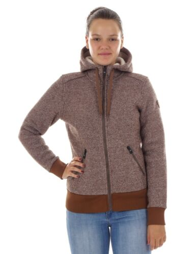 Hooded Brown Cardigan Functional Jacket Insulating Cmp Drawstring qwC8Bxn