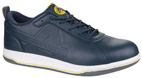 Amblers AS709 Ettrick S1P SRA Vegan Friendly Blue Safety Trainers Shoe Size 6-12