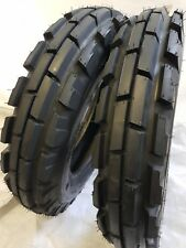 2 Tires 2 Tubes 650 16 8 Ply Knk33 3 Rib Farm Tractor Tires Withtube 650x16
