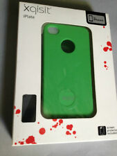 XQISIT iPLATE HARD PLASTIC BACK CASE / COVER FOR APPLE iPHONE 4 4S- GREEN XQ4009