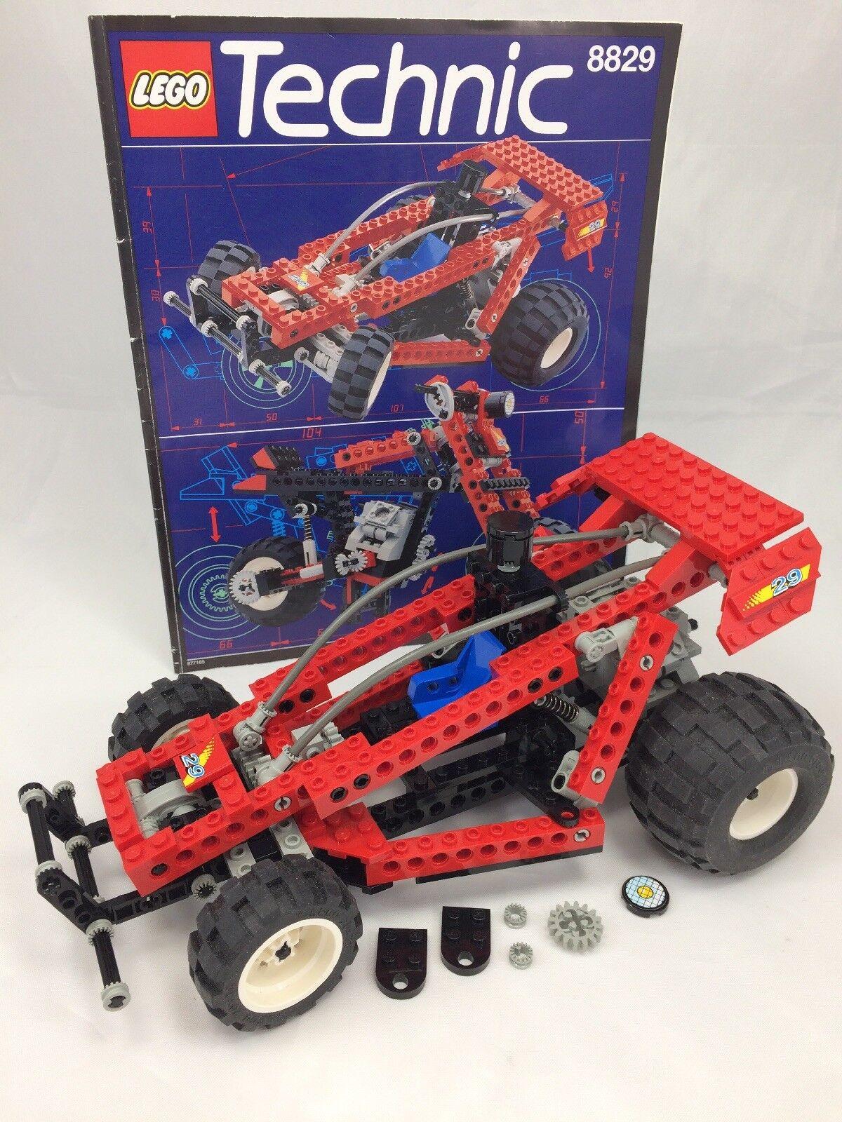 marca LEGO TECHNIC 8829 Dune Blaster     Motorbike - completare with Instructions  Nuova lista