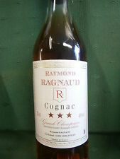 1 Flasche à 0,7l Raymond Ragnaud Cognac Grande CHAMPAGNE trois etoiles