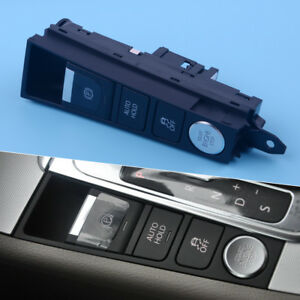 Lhd Console Switch Start Stop Esp Ebp Auto Hold Panel Fit Vw Passat
