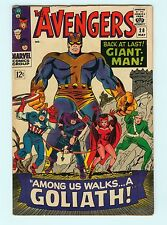 The Avengers #28 6.5 FN+ Silver Age Marvel 1st Goliath Comic Book Giant-Man