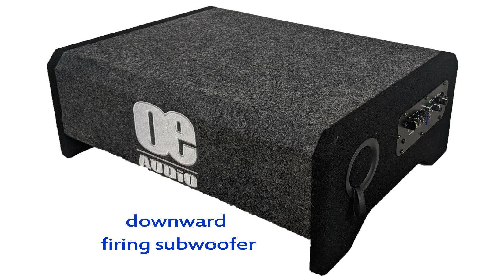 OE AUDIO OE-110FA 10 Inch 25cm 1300W Active Car Subwoofer Bass Box fire down
