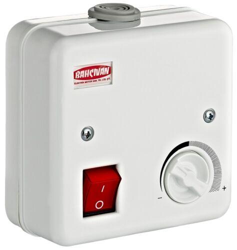 Drehzahlregler Rohrlüfter Rohrventilator Kanalventilator Duct Fan Abluft Ø100