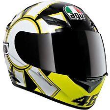 AGV K-3 Rossi Gothic 46 Full-Face Helmet Black 2XL/XX-Large