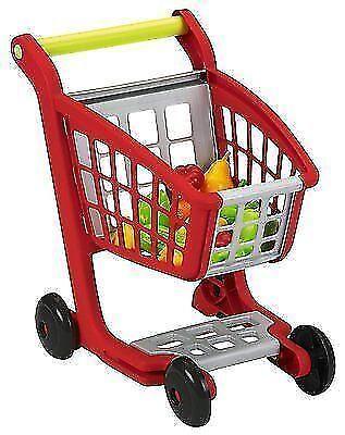 ecoiffier 1225 kinder einkaufswagen mit kaufladen zubeh r. Black Bedroom Furniture Sets. Home Design Ideas
