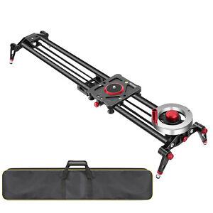 Neewer 31-inch Camera Slider Video Track Dolly Rail Stabilizer 80cm