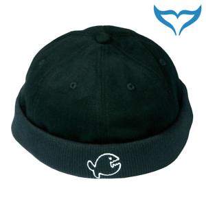 iQ-Company-Cap-Skull-Fish-black-schwarz-Docker-Cap-Muetze-Kappe-Hat-Baumwolle-NEU