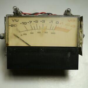 Candide Modutec Vu Meter Inc Ampoules Pour Urei Ua 1176 1176ln La-3a La-4 #5-afficher Le Titre D'origine