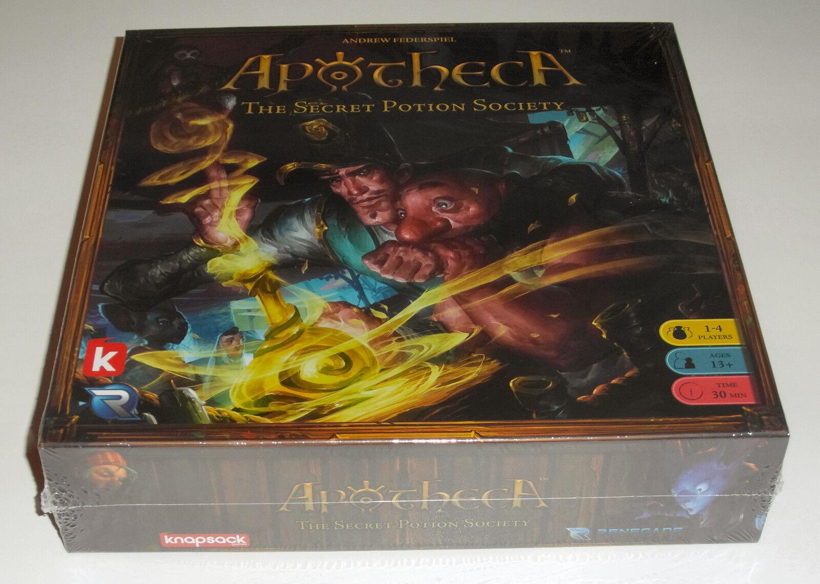 Apotheca  The Secret Potion Society - Renegade Game Studios - 2016