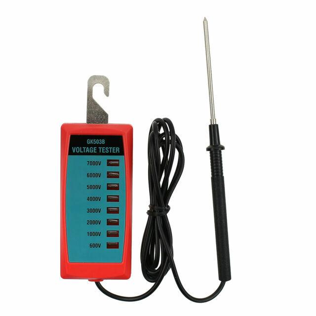 Portable Electric Fence Voltage Tester 600V-7000V Fence Controller Garden Tools