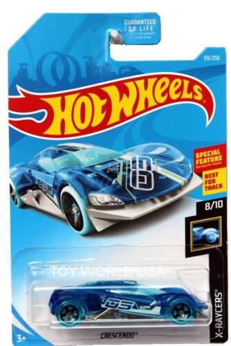 2019 Hot Wheels #59 X-Raycers Crescendo