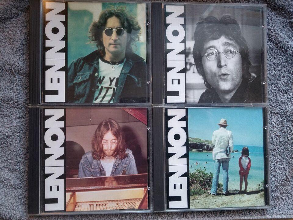 John Lennon: 4 CD sæt, rock
