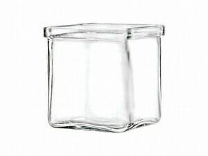 3-oz-Square-Votive-Style-Candle-Glass-Jar-Container-Lot-of-12