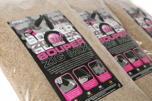 Mainline Souper Zig Mix Groundbait 4kg *Coarse Carp Fishing Bait