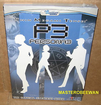 Adaptable Shin Megami Tensei Persona 3 Official Guide Book Playstation 2 Ps2 New Sealed Het Speeksel Verversen En Verrijken