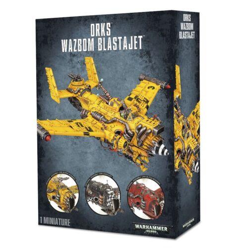 Orks Wazbom Blastajet GW 50-32 NIB Warhammer 40,000