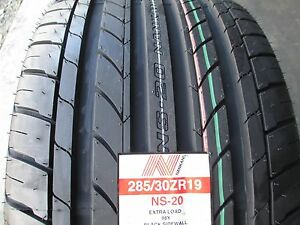 2 new 285 30zr19 inch nankang ns 20 tires 285 30 19 2853019 r19 ebay. Black Bedroom Furniture Sets. Home Design Ideas