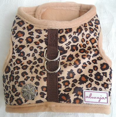 "♥ Hundegeschirr alvonja ""LOVELY"" Safari versch. Motive Softgeschirr  XS - M ♥"