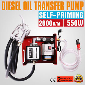 pompe fuel ou gasoil carburant transfert oil pump lectrique 220v bio 60l min ebay. Black Bedroom Furniture Sets. Home Design Ideas
