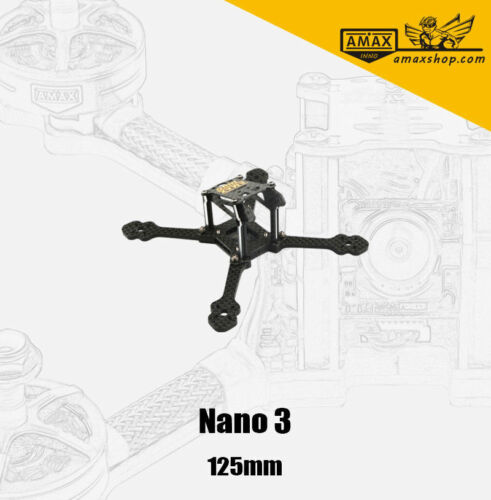 AMAXinno Nano 2.5 3 4 5 Zoll Rahmen Frame FPV Racing Drohne Drone Racer Chassis